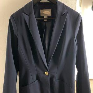Navy blue blazer